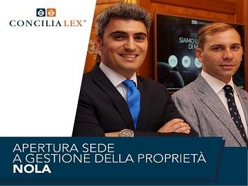 A Nola una nuova sede Concilia Lex S.p.A. a gestione della proprietà