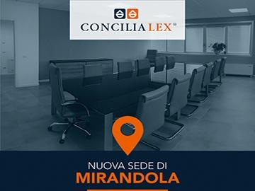Una sede Concilia Lex S.p.A. anche a Mirandola (Modena)