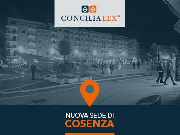 Concilia Lex S.p.A. rafforza la sua presenza in Calabria con la nuova sede di Cosenza