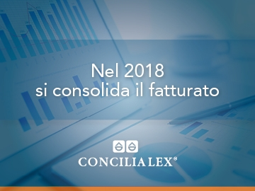 Nel 2018 si consolida il fatturato Concilia Lex S.p.A.. Contratti bancari e diritti reali le voci più significative