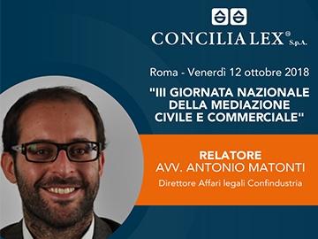 Imprese e mediazione: la voce di Confindustria alla Giornata Nazionale della Mediazione a Roma