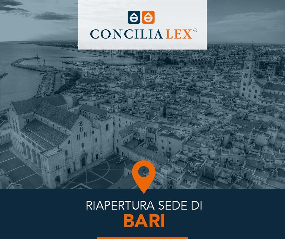 Nuova sede Concilia Lex S.p.A. su Bari