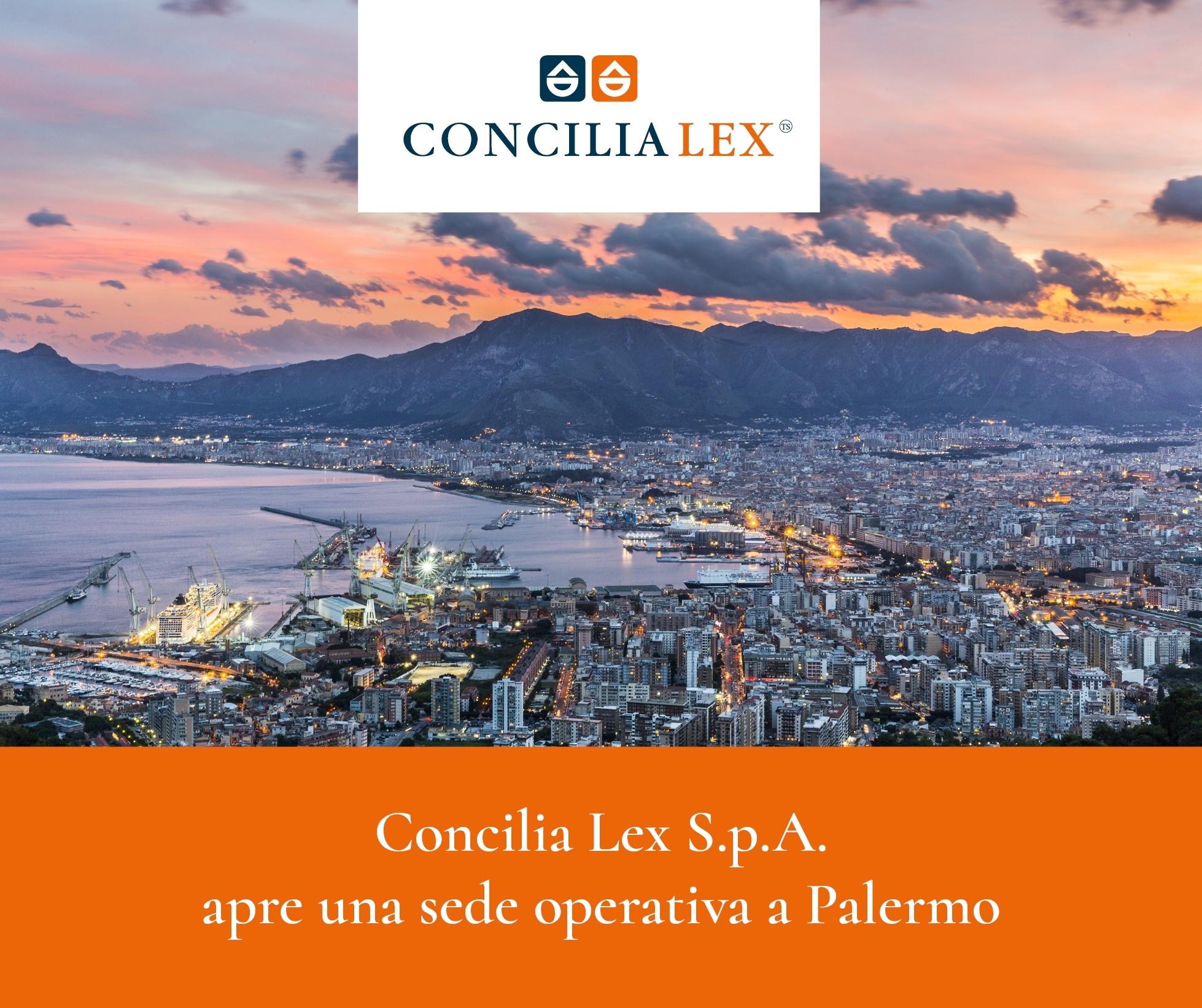 Concilia Lex S.p.A. apre una sede operativa di mediazione a Palermo