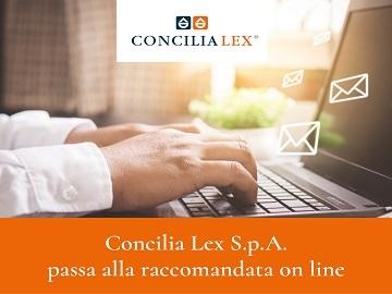 Concilia Lex S.p.A. passa alla raccomandata on line