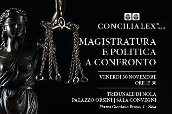 Magistratura e politica a confronto sulla mediazione: il 30 Novembre convegno al Tribunale di Nola