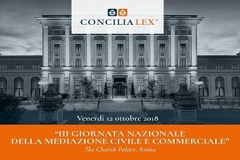 III Giornata Nazionale della Mediazione Civile e Commerciale