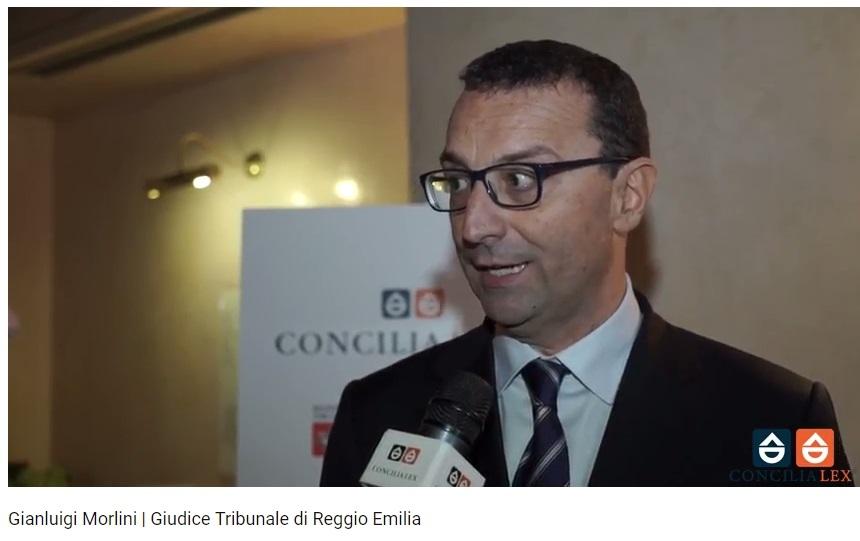Giudice Gianluigi Morlini convegno Firenze