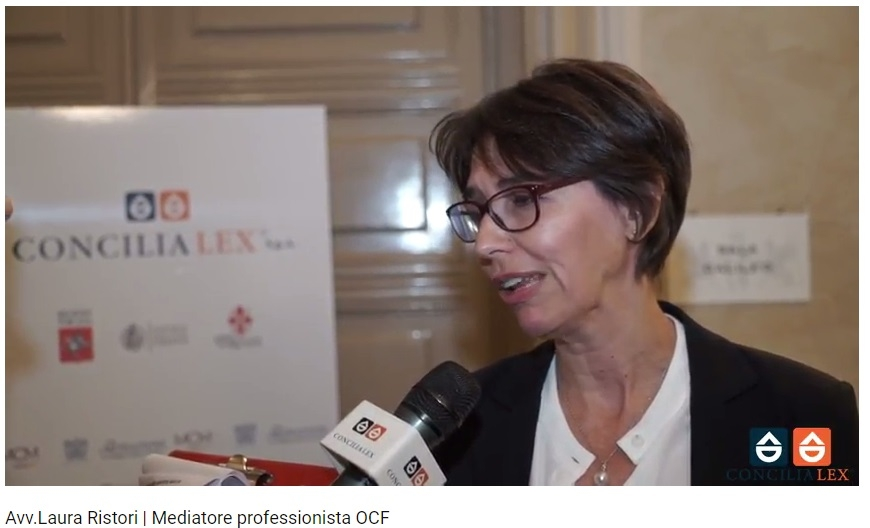 Avvocato Laura Ristori mediatrice