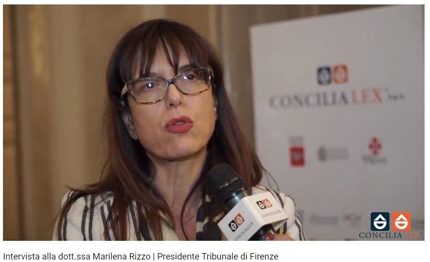 Marilena Rizzo convegno Firenze