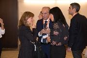 Lucarelli con avvocato Cavallaro ed Elisa