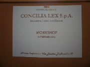 2 - Workshop Mediatori Concilia Lex S.p.A. 10-02-2012