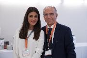 L'avvocato Cavallaro e Chiara dello staff