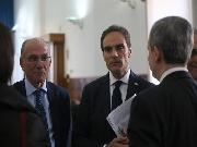 Il Prof. Marinaro, il Sen. Urraro e l'Avv. Cavallaro