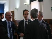 L'arrivo del Senatore Francesco Urraro
