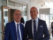 Il Dott. Pasquale e l'Avv. Cavallaro