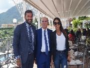 L'Avv. Cavallaro e i referenti della sede di Napoli Via Cervantes